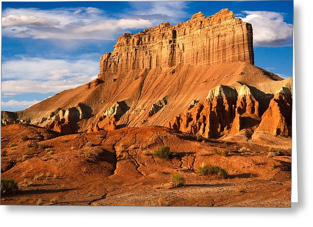 Wild Horse Butte Greeting Card by Utah Images
