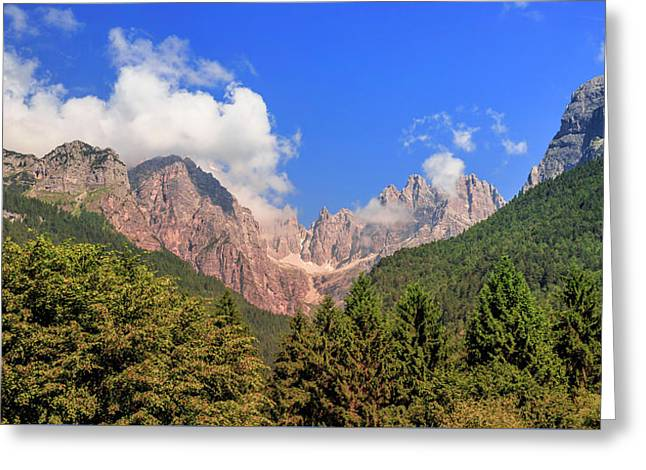 Wild Italy Greeting Card by Roy McPeak
