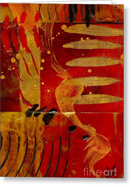 Wild Kingdom Greeting Card by Angela L Walker
