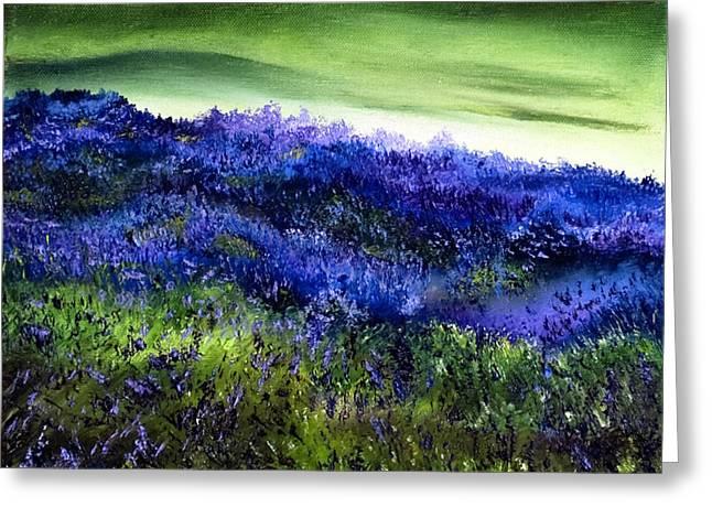 Wild Lavender Greeting Card