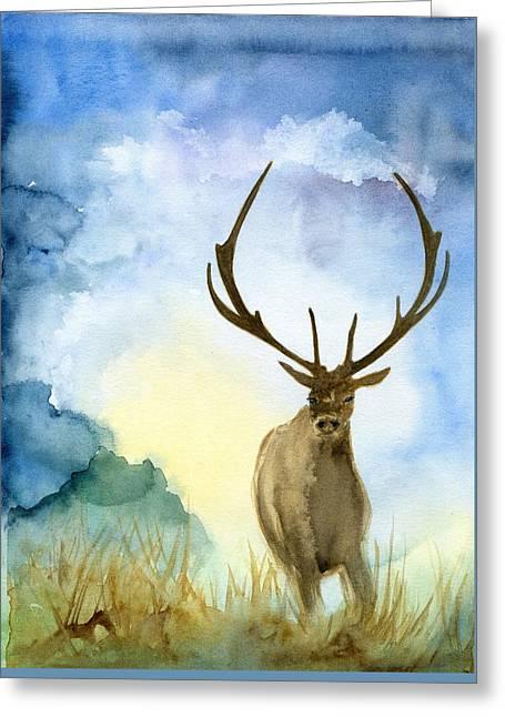 Wild Life Greeting Card by Bitten Kari