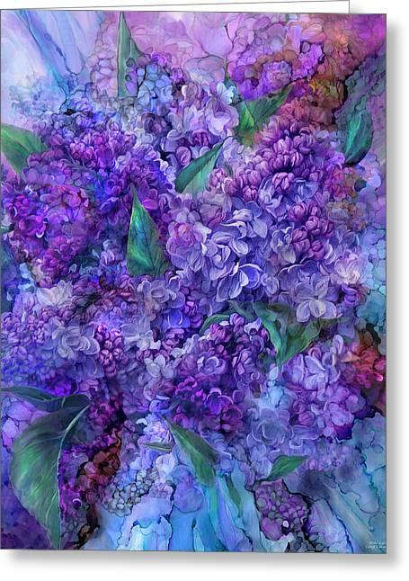 Wild Lilacs Greeting Card
