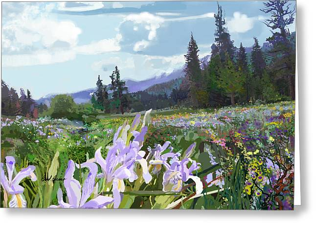 Wild Meadow Greeting Card