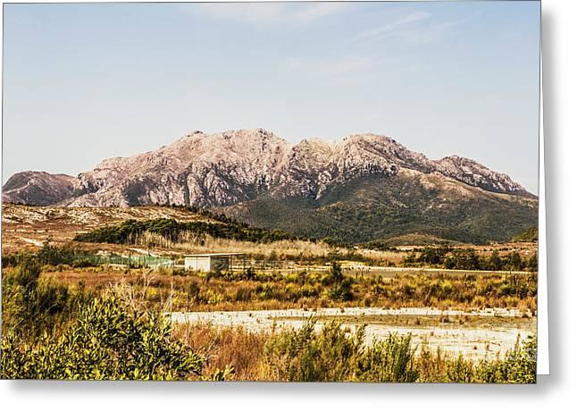 Wild Mountain Range Greeting Card