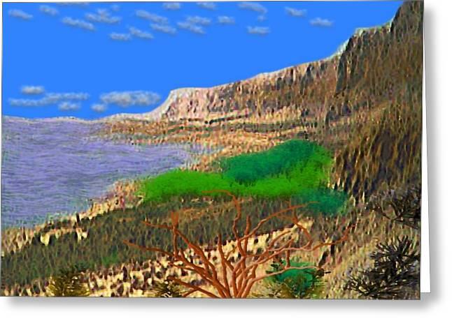 Wild Seashore Greeting Card by Dr Loifer Vladimir