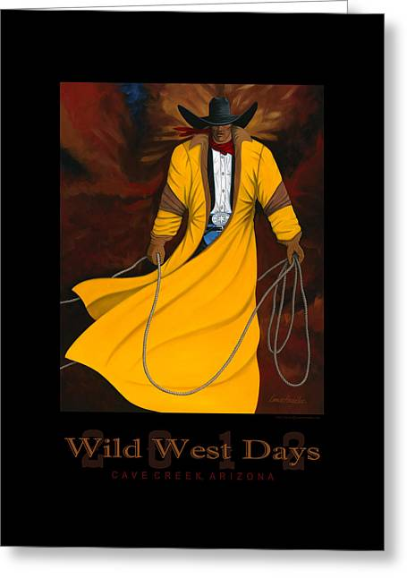 Wild West Days 2012 Greeting Card by Lance Headlee