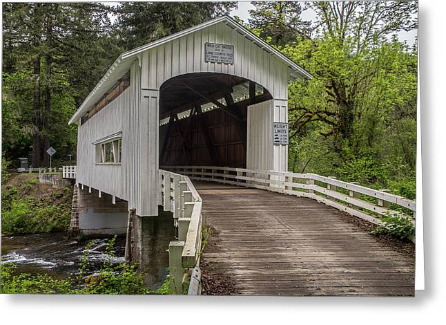 Wildcat Creek Bridge No. 1 Greeting Card