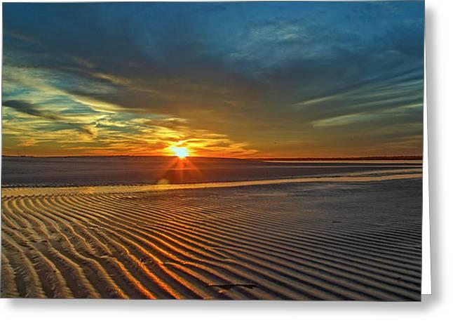 Wilderness Beach Heartbreak Greeting Card by Betsy Knapp