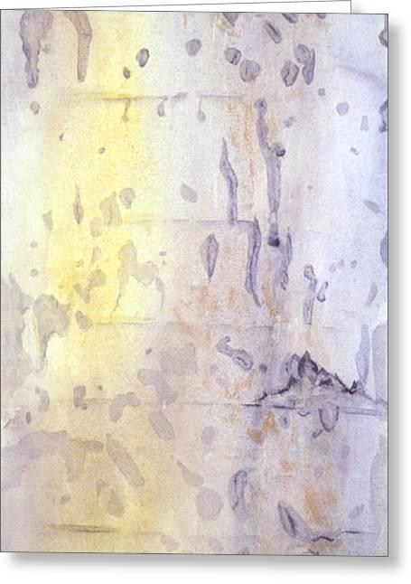 Wilderness Calligraphy - Aspen Tree Greeting Card