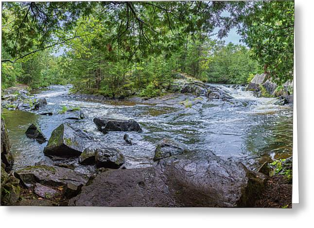 Greeting Card featuring the photograph Wilderness Waterway by Bill Pevlor