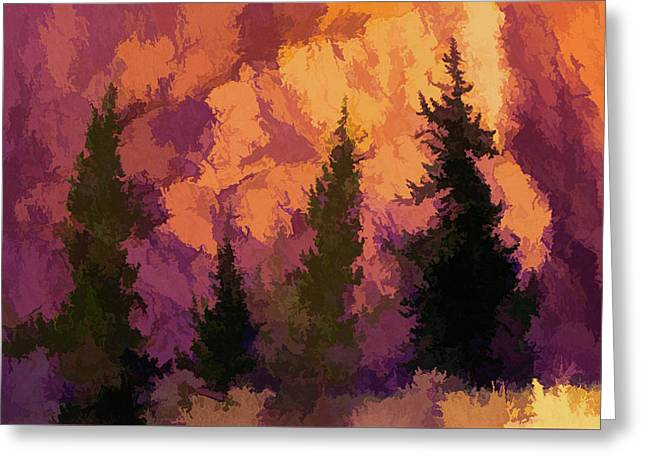 Wildfires Greeting Card