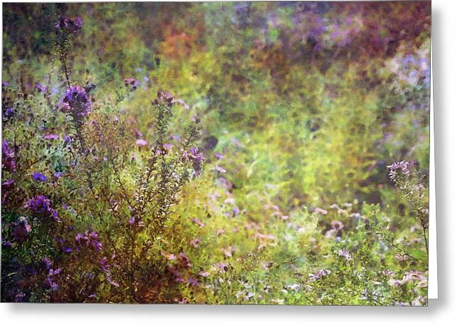 Wildflower Garden Impression 4464 Idp_2 Greeting Card