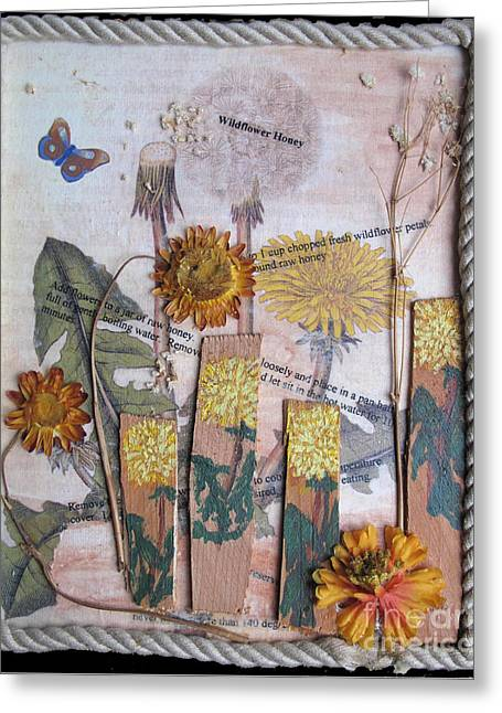 Wildflower Honey Greeting Card