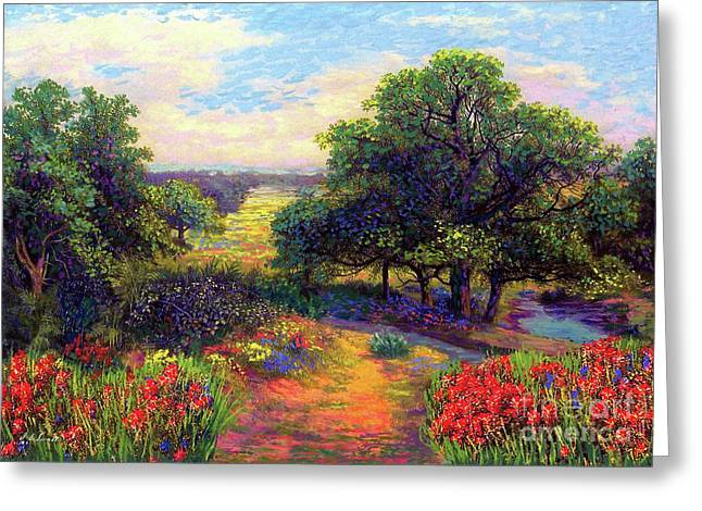 Wildflower Meadows Of Color And Joy Greeting Card