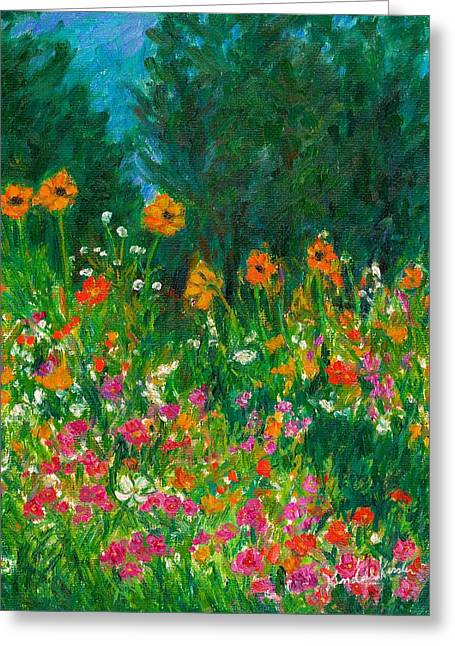 Wildflower Rush Greeting Card