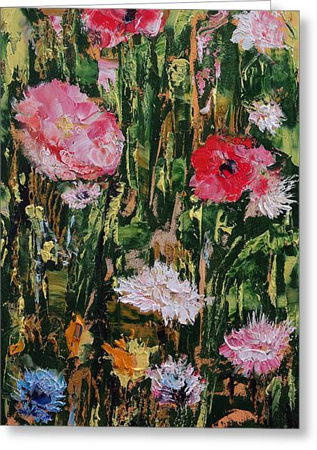 Flowers Greeting Card by Michael Creese