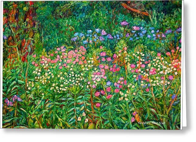 Wildflowers Near Fancy Gap Greeting Card