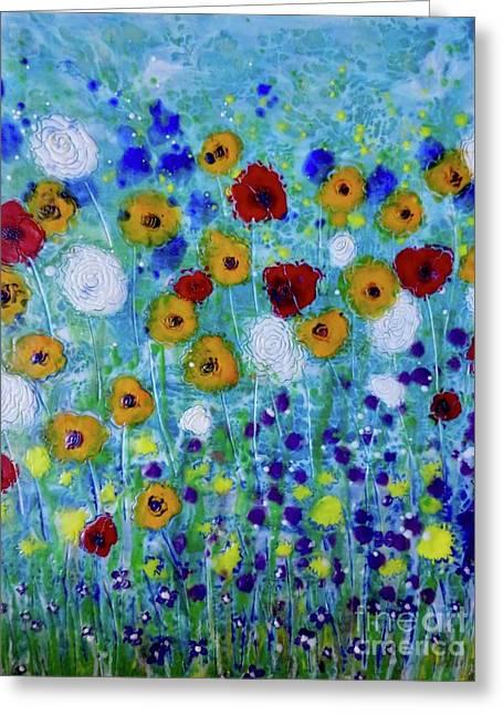 Wildflowers Never Die Greeting Card
