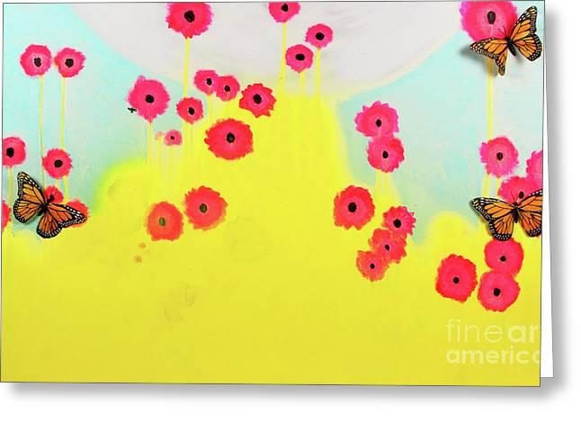 Wildlife Greeting Card by Keshida Layone