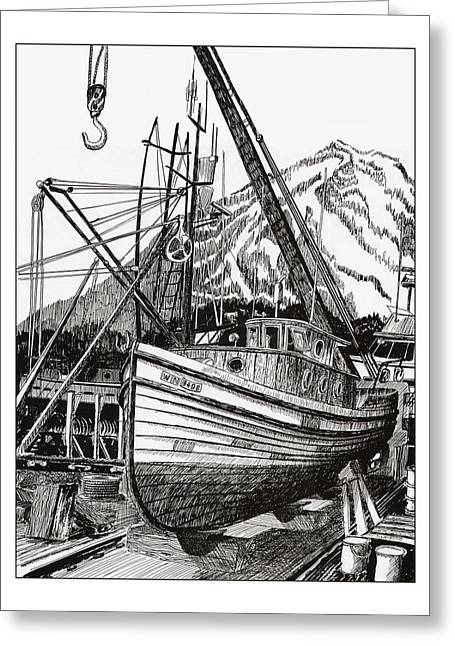 Will Fish Again Another Day Greeting Card by Jack Pumphrey