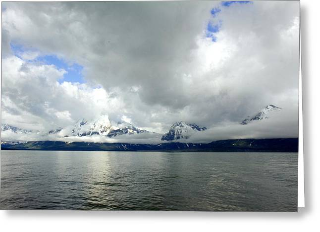 Will The Clouds Ever Go Away Greeting Card by Amanda Kiplinger