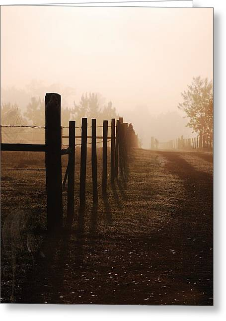Will They Be Mist Greeting Card by Robert Meanor