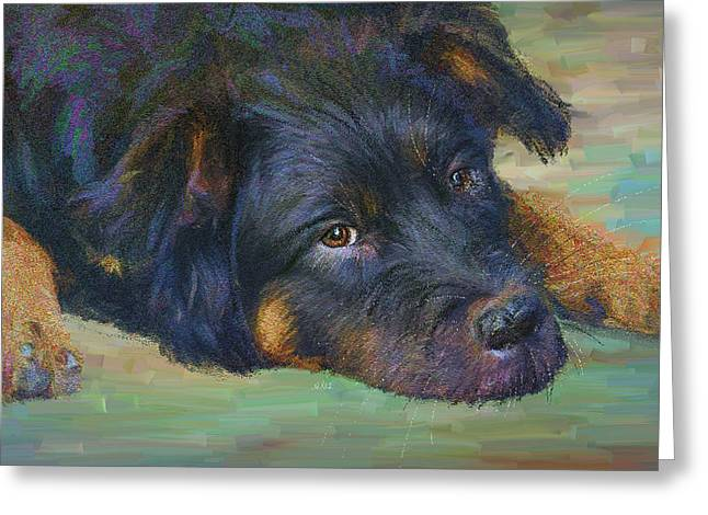 Will You Play With Me? Greeting Card by Angela A Stanton