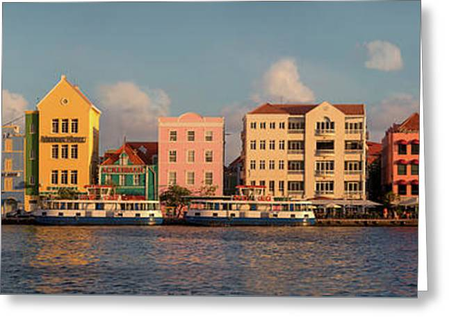 Willemstad Curacao Panoramic Greeting Card