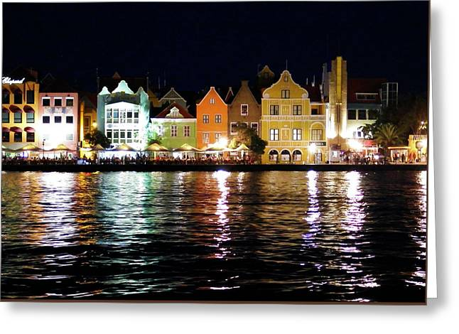 Greeting Card featuring the photograph Willemstad, Island Of Curacoa by Kurt Van Wagner