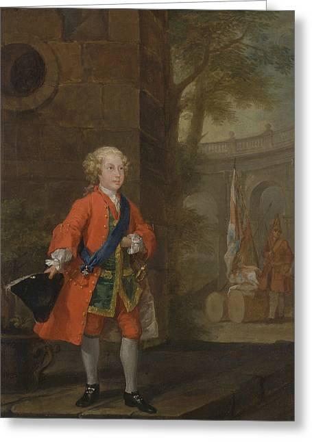 William Augustus, Duke Of Cumberland Greeting Card