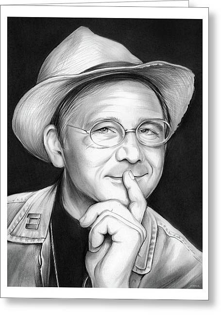 William Christopher Greeting Card