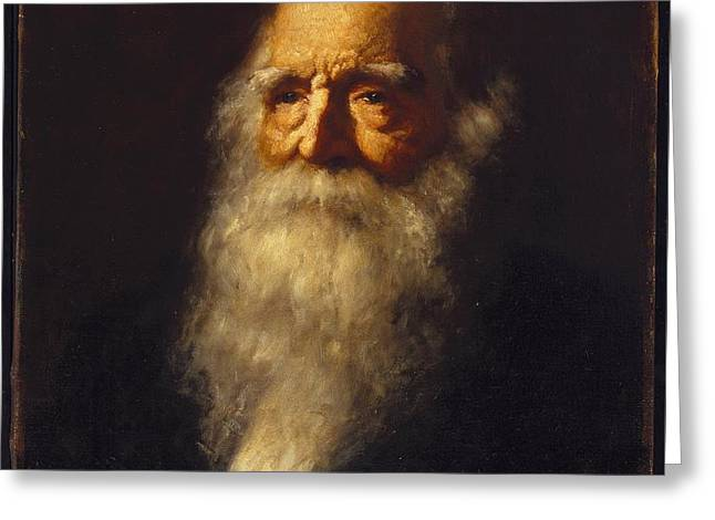 William Cullen Bryant Greeting Card by MotionAge Designs