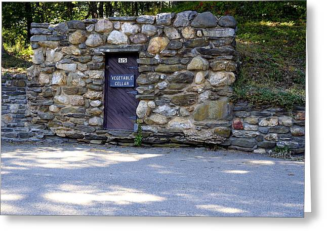 William Gillette Root Cellar Greeting Card