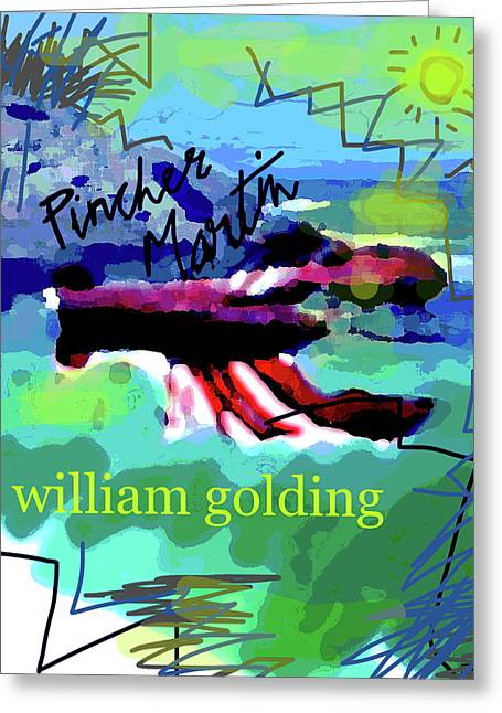 William Golding Poster  Greeting Card