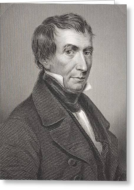 William Henry Harrison 1773 -1841. 9th Greeting Card