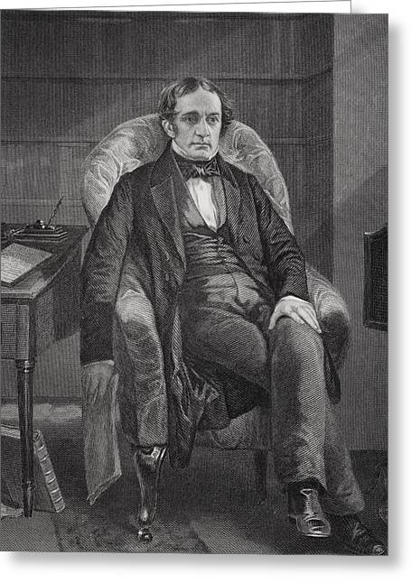 William Hickling Prescott 1796 To 1859 Greeting Card by Vintage Design Pics