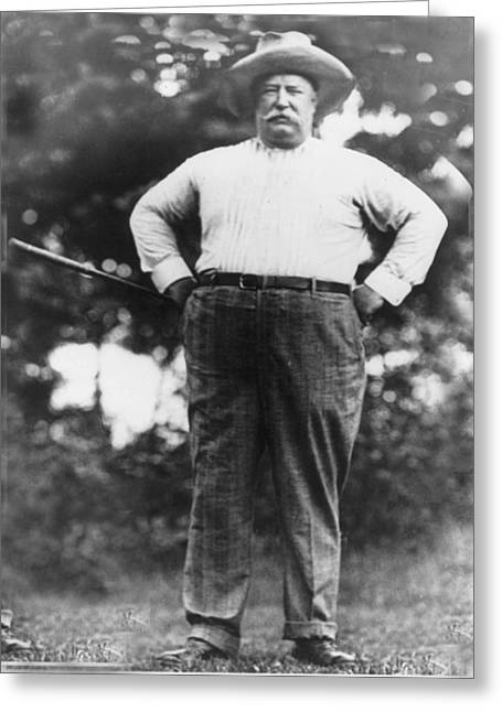 William Howard Taft Greeting Card by Unknown