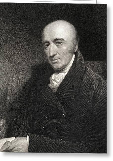 William Hyde Wollaston 1766-1828 Greeting Card