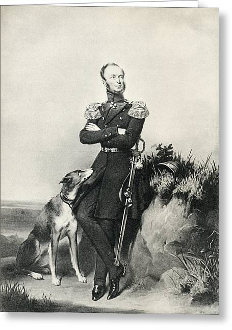 William II, Willem Frederik George Greeting Card by Vintage Design Pics