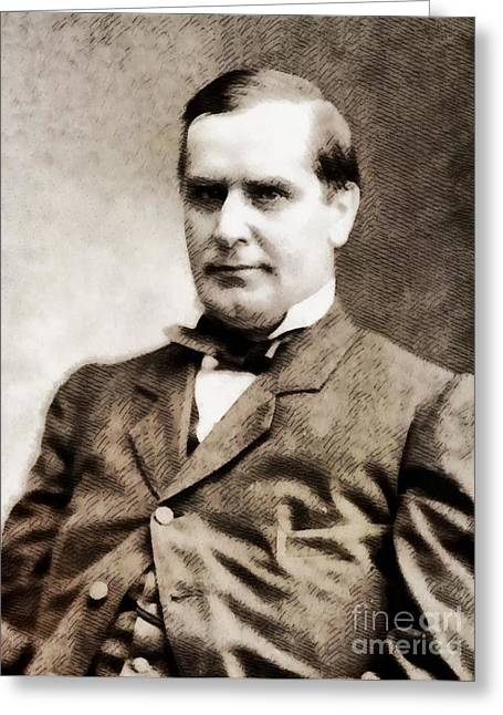 William Mckinley, President Of The United States By John Springfield Greeting Card by John Springfield