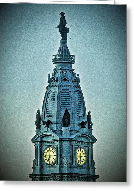 William Penn On Top Greeting Card