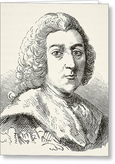 William Pitt The Elder 1st Earl Of Greeting Card