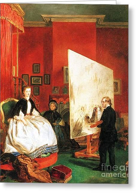 William Powell Frith Greeting Card