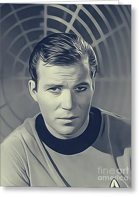 William Shatner, Captain Kirk Greeting Card