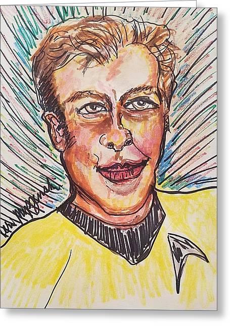 William Shatner Greeting Card