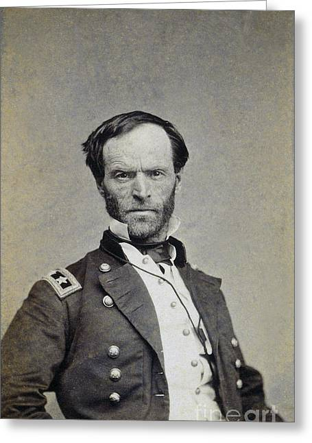 William Tecumseh Sherman Greeting Card by Granger