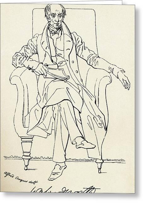 William Wordsworth, 1770 Greeting Card by Vintage Design Pics