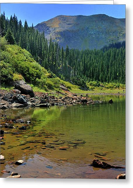 Williams Lake Greeting Card