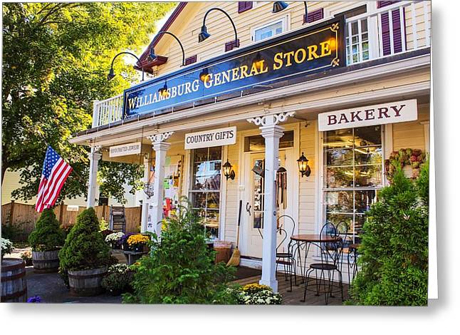 Williamsburg General Store Mass Greeting Card