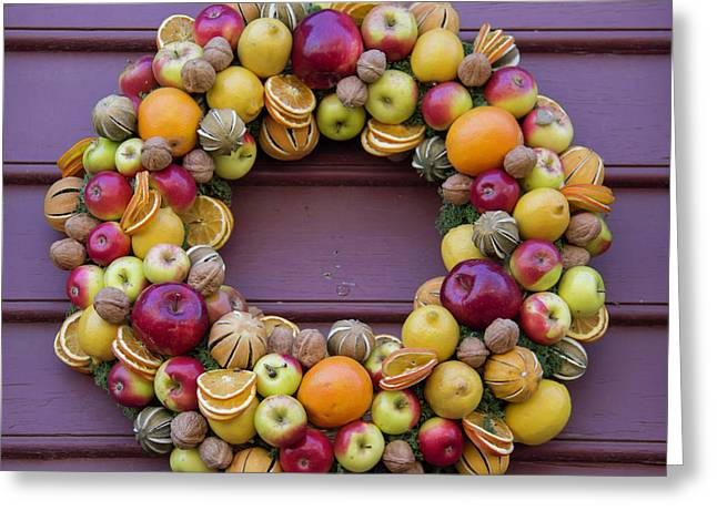Williamsburg Wreath 41 Greeting Card